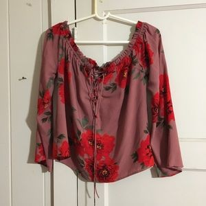 Kendall & Kylie Floral Top